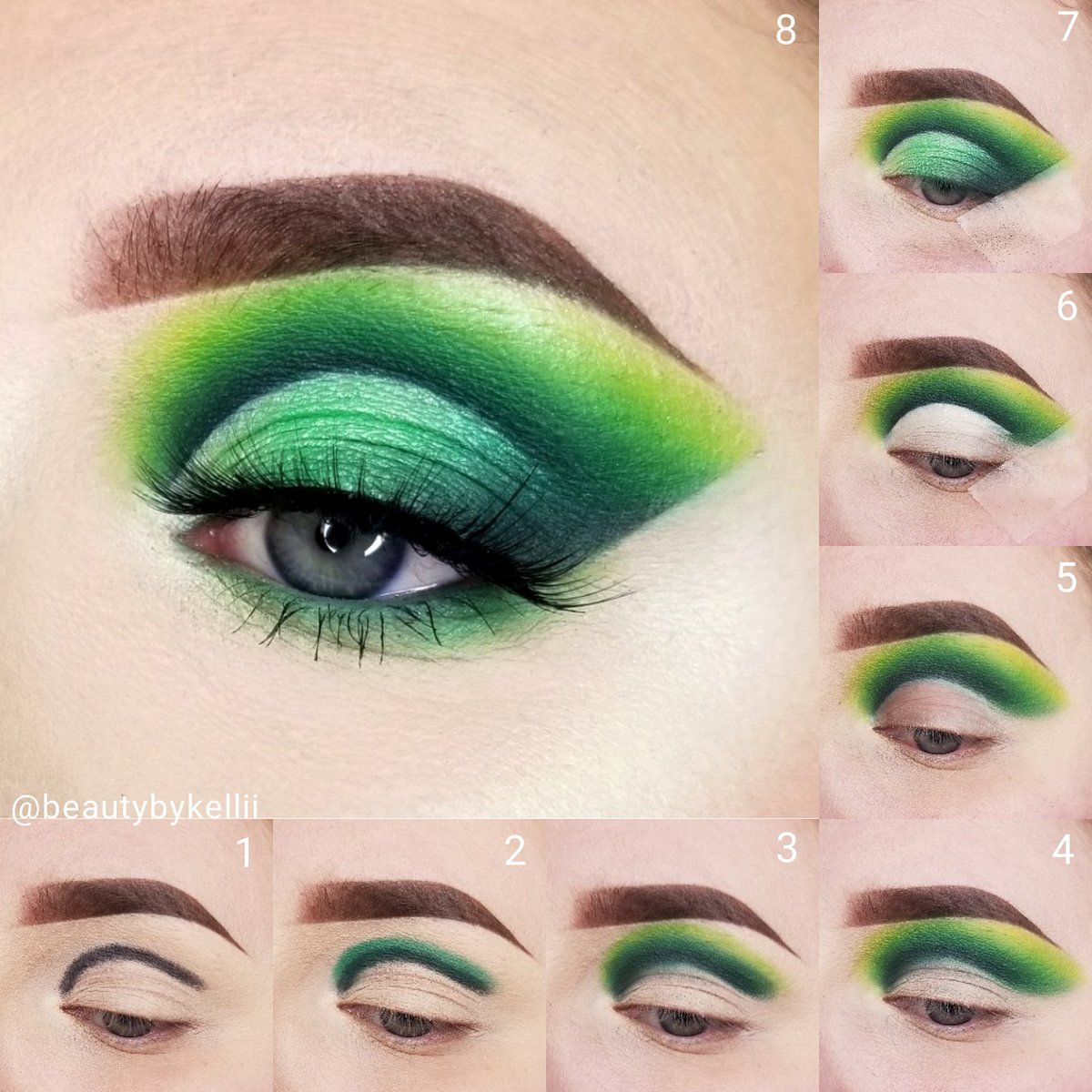 GREEN   All product details on my IG http://www.instagram.com/beautybykellii  Just a little something #abhbrows #norvina #bhcosmetics #takemebacktobrazilpalette #kisslashes #elfcosmetics #elfcamoconcealer @ABHcosmetics @norvina1 @bhcosmetics @KissProductspic.twitter.com/pFfcgf7Bws