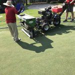 Image for the Tweet beginning: Dryject greens 1-8 today before