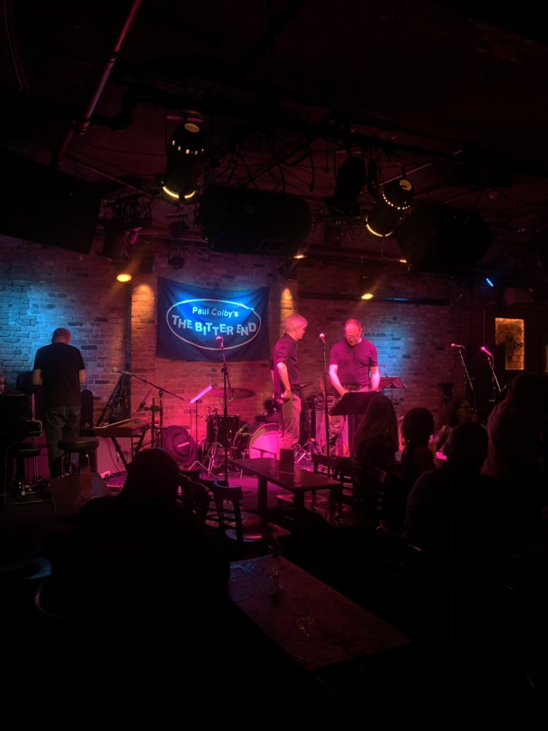 Getting read to rock @BitterEndNYC!! There's still time to make it to tonight's show — hope to see you here!  #nyc #WritingCommnunity #nycmusician #indiemusic <br>http://pic.twitter.com/zRPAJdK9zM