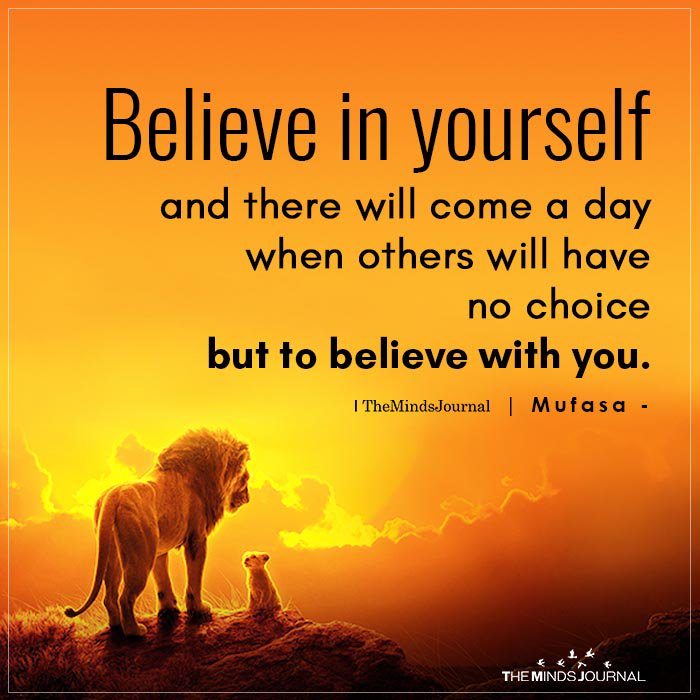 """The Minds Journal on Twitter: """"Believe In Yourself https://t.co ..."""