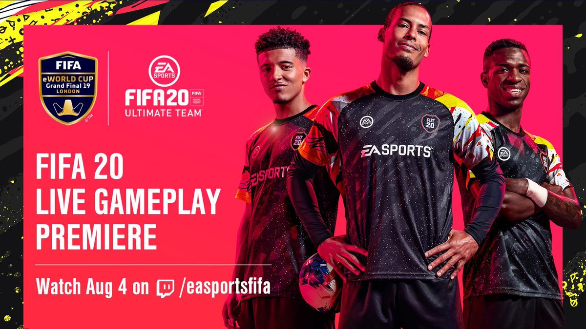 Gameplay de FIFA 20 será revelado no domingo 1