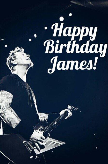 Happy Birthday James Hetfield