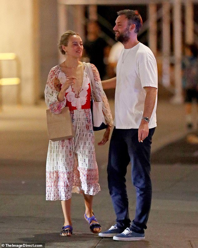While Jennifer Lawrence, 28, is busy filming for her upcoming film in New Orleans, her fiance Cooke Maroney, 34, was seen hanging out with a friend in New York City on Thursday. https://t.co/Qs2r9TbFJn