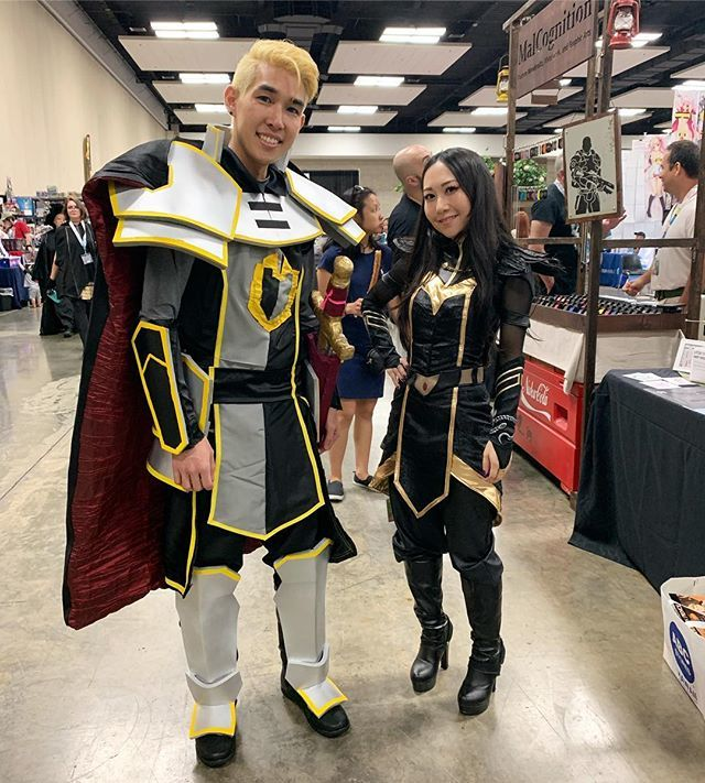 "@miekonekocosplay as Claudia with Soren from ""The Dragon Prince"" at @comicconhnl  #dragonprince #cosplay #cch2019 #comicconhonolulu2019 #soren #claudia #thedragonprince https://t.co/ICT3wChf65 https://t.co/2wAAQVtqKS"