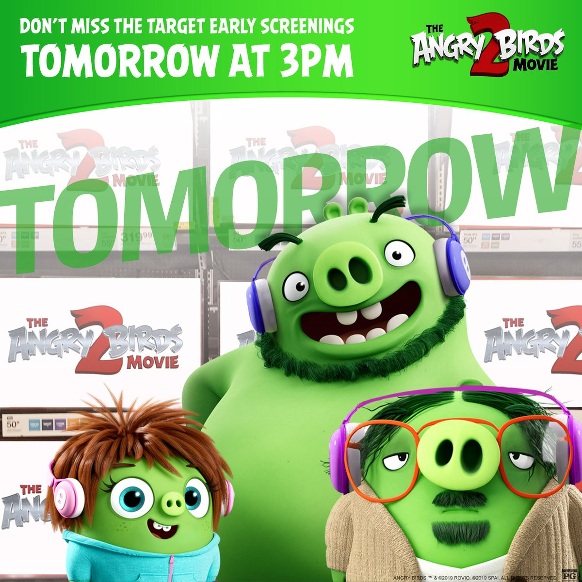 The Angry Birds Movie 2 On Twitter Listen Up Target Early Bird