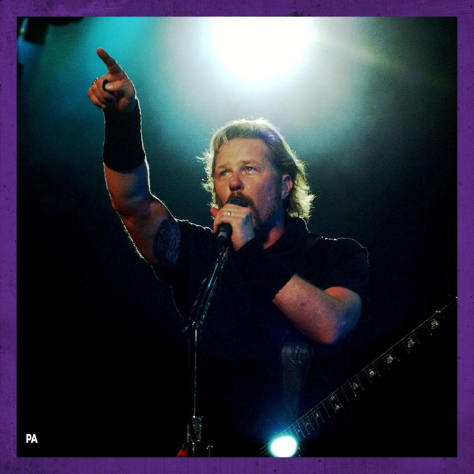 Happy Birthday to Metallica frontman James Hetfield! What\s your favourite song by the iconic band?