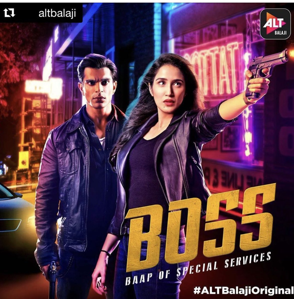 "All episodes streaming now on @altbalaji . Go watch it now . Goodluck ""House Boss"" for #Boss 😉 @sagarikavghatge @Iamksgofficial @ektaravikapoor https://t.co/hu4uIffEW4"