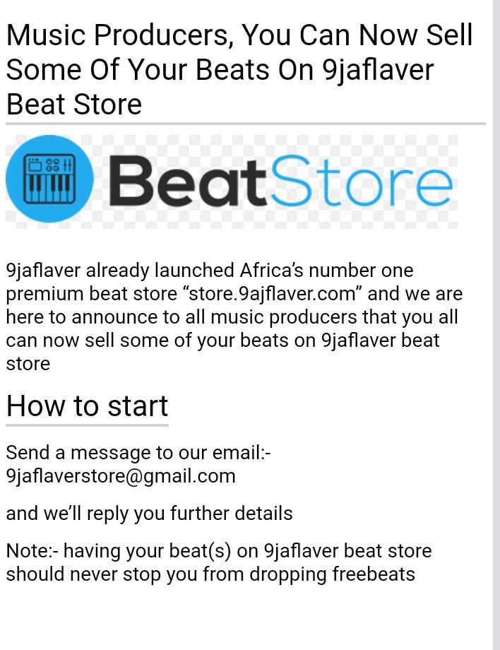 9jaflaver Free Beats