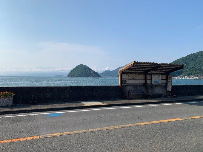 長浜バス停