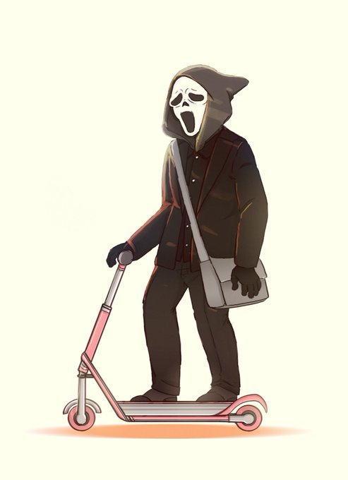 They see me rollin , They hatin  (Happy late bday to Wes Craven !)