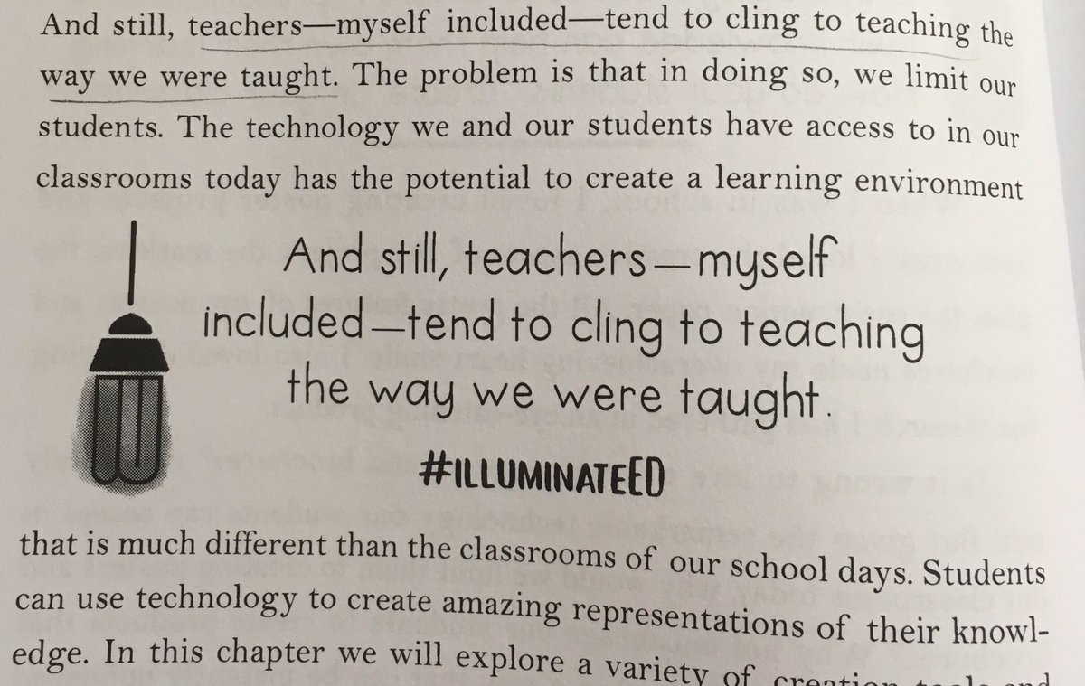 Are your instructional practices limiting your students? #illuminateED #edchat #g2great #iaedchat