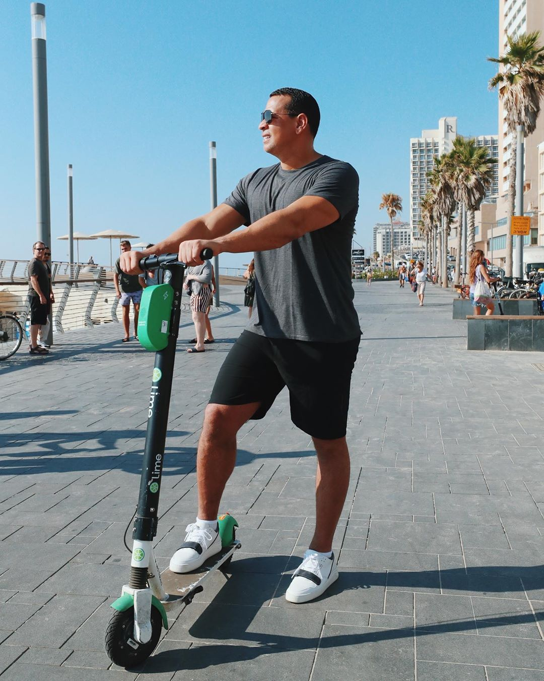 Алекс Родригес в Тель-Авиве