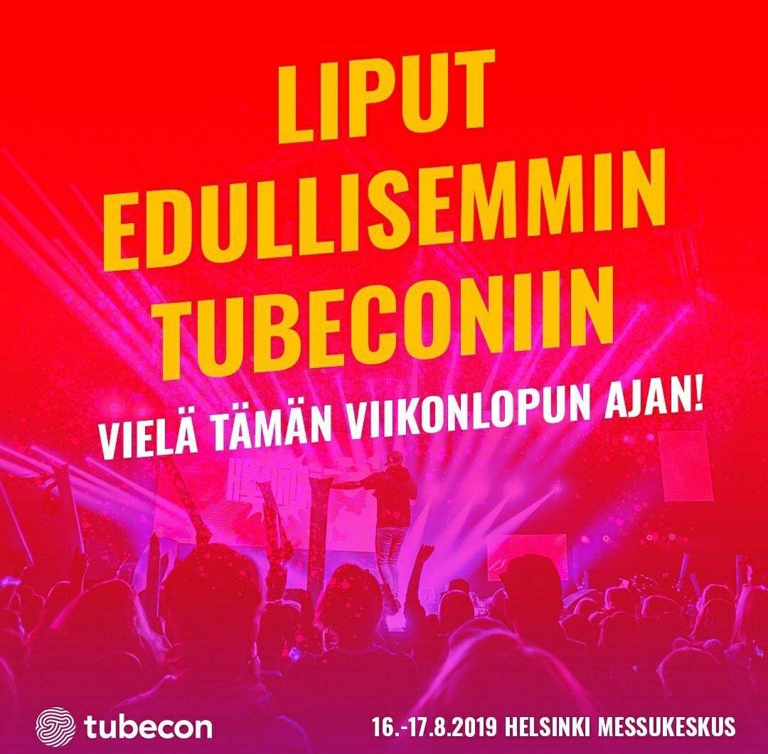 tubecon 2020 ohjelma