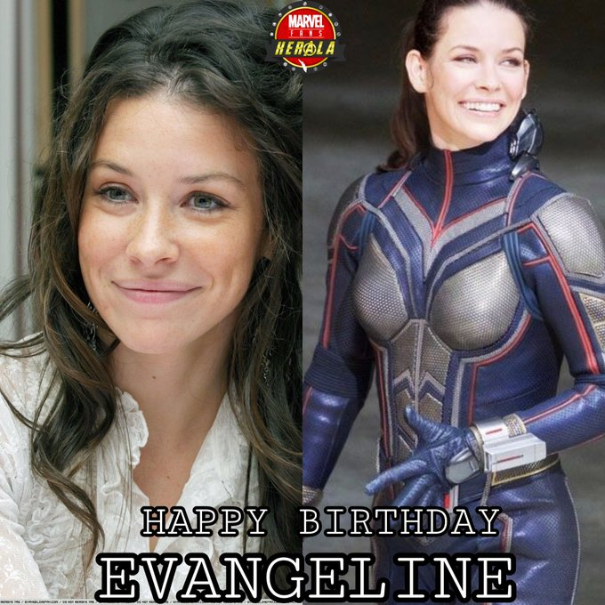 Wishing a very Happy Birthday to Evangeline Lilly aka WASP