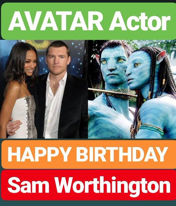HAPPY BIRTHDAY  Sam Worthington AVATAR FILM ACTOR
