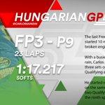 [INFO] 🇪🇸 Carlos Sainz, noveno en los Libres 3 del GP de Hungría 👉 https://t.co/Aib9bcZ7u0  🇬🇧 Carlos Sainz, P9 in Free Practice 3 for the Hungarian GP 👉 https://t.co/iX1AkPdX0Y  #carlo55ainz #HungarianGP 🇭🇺 #F1 #FP3