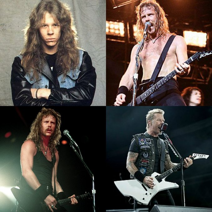 Happy 56th Birthday to Metallica singer James Hetfield  What\s you favorite album and song?!?