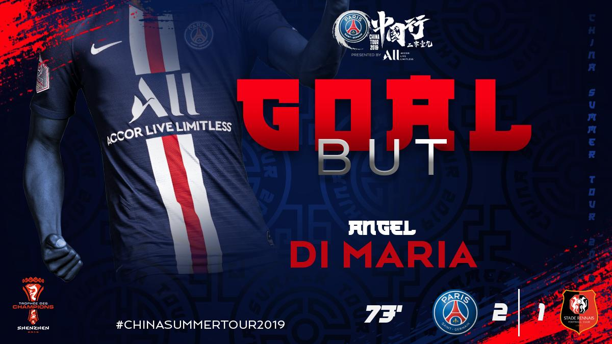 Paris Saint Germain On Twitter Goaoaoaoaoaoaoaoaoaoaoaaalallllll Di Maria With A Spectacular Free Kick Welcome Back Angel 2 1 Psgsdr Https T Co 4xelwcjmh1