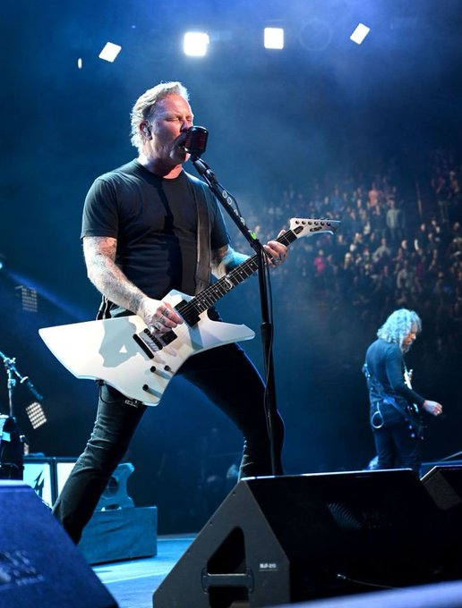 August 3rd - Happy Birthday to the God of Downpicking, James Hetfield.