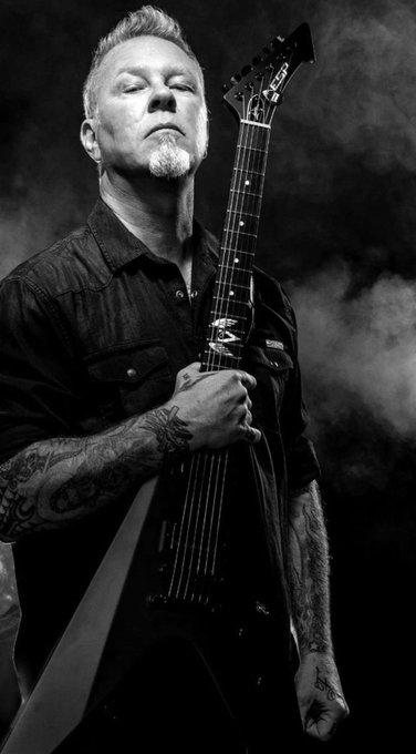 Happy Birthday to James Hetfield one of Greatest metal lead singer.