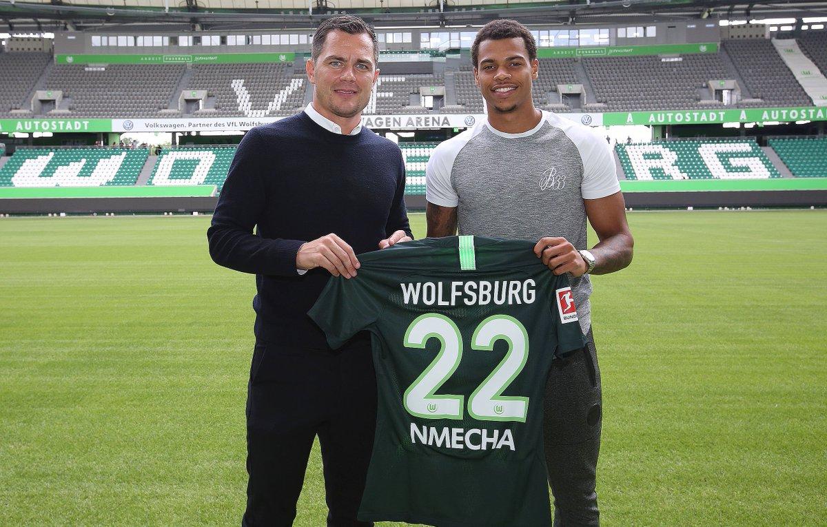 VfL Wolfsburg verpflichtet Lukas Nmecha von Manchester City auf Leihbasis