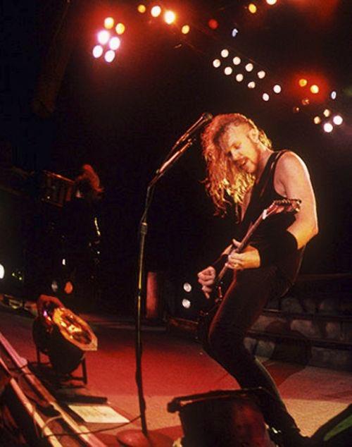 Happy Birthday to one of my top musical heroes, James Hetfield!