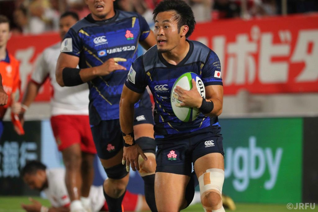Japan Score 5 Tries in 41-7 Defeat of Tonga Read full story here: en.rugby-japan.jp/2019/08/03/jap… #rugbyjp