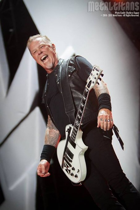 """MetalTitans \""""Happy Birthday\"""" shout out today to . . .   James Hetfield of  Charlene Tupper"""