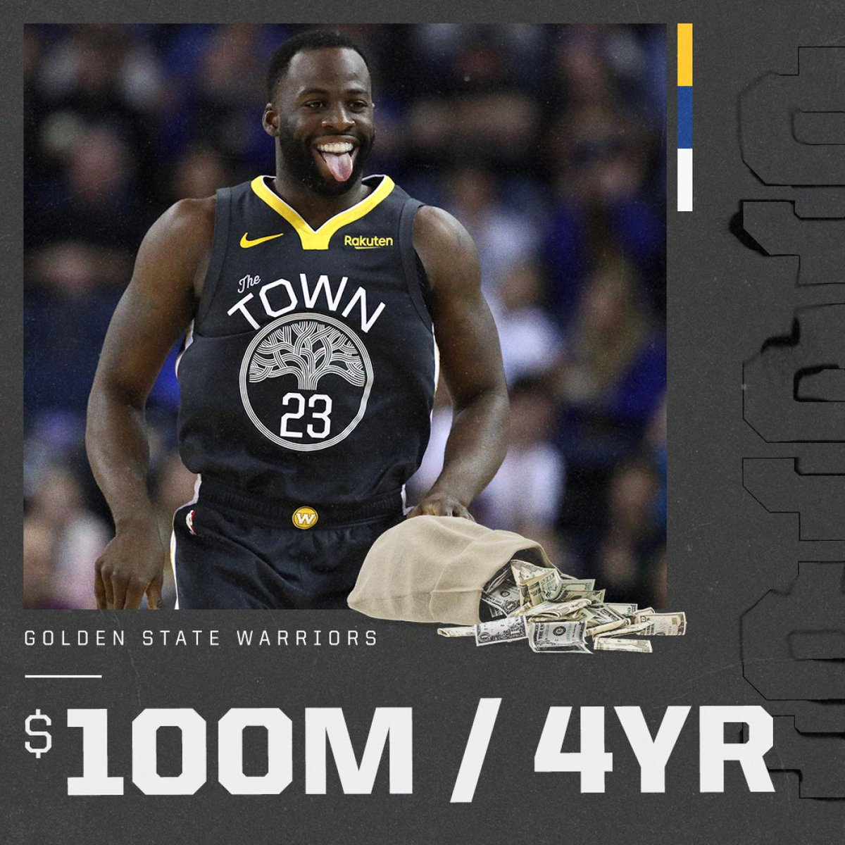 Draymond Green's total deal now: 5-years, $118M
