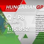 [INFO] 🇪🇸 Carlos Sainz, octavo en la parrilla del GP de Hungría 👉 https://t.co/qo87R07EEh  🇬🇧 Carlos Sainz, P8 at the Starting Grid of the Hungarian GP 👉 https://t.co/QPJiFRdSw8  #carlo55ainz #HungarianGP 🇭🇺 #F1