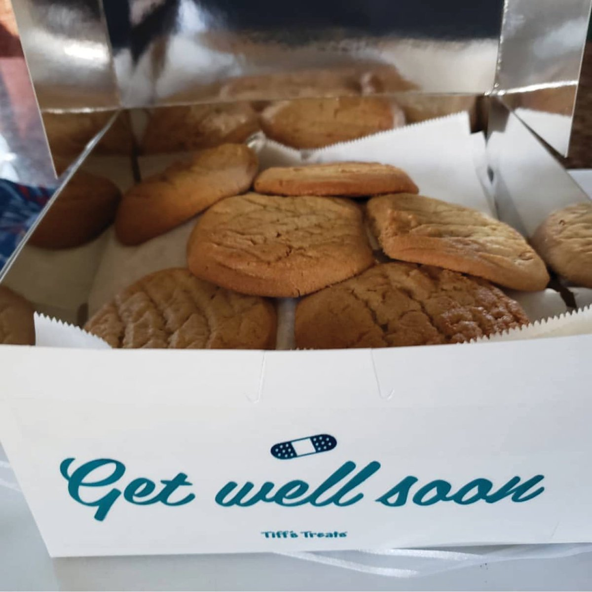 1afcd299405 The fastest way to cheer up is with #tiffstreats warm cookies. Are Peanut  Butter cookies the perfect prescription for you? Or a different flavor?