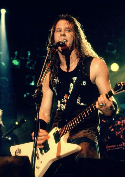 Happy birthday to Metallica frontman and rhythm guitarist, James Hetfield! He turns 56 today.