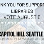 Image for the Tweet beginning: Thanks to the Capitol Hill