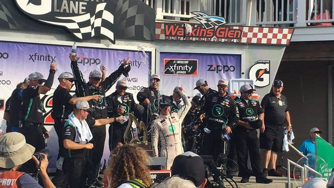 Austin Cindric earns first win at 2019 Zippo 200 at The Glen