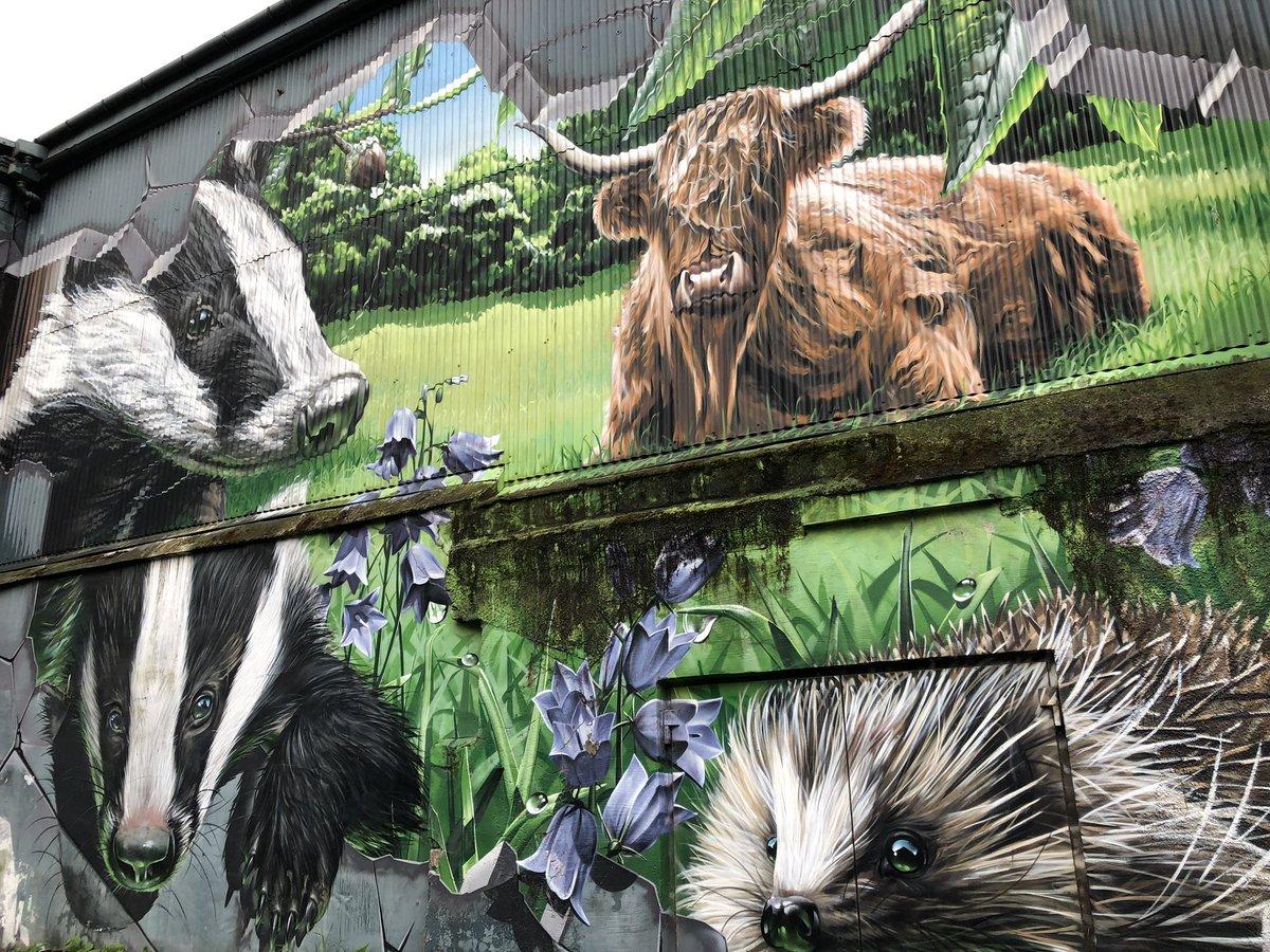 #Murals #Glasgow #IngramStreet #Scotland