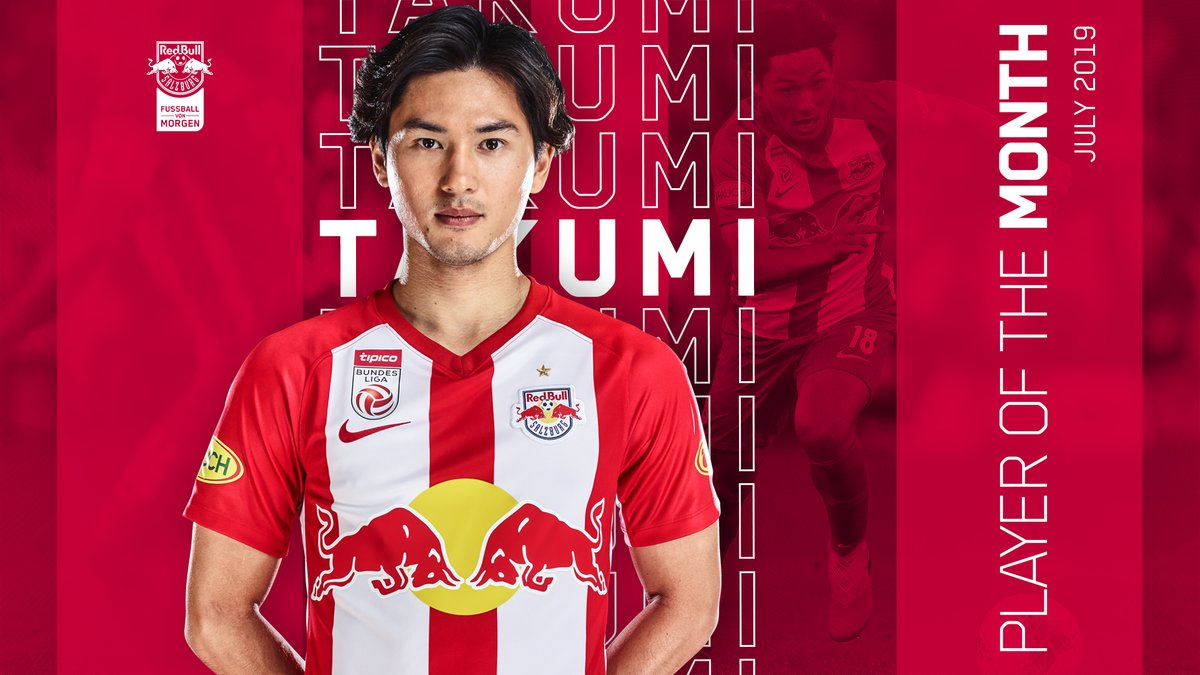RT @FCRBS_jp: 🏅全体の48%の票を獲得した #南野拓実 選手が、今シーズン最初の月間最優秀選手に輝きました!🔥 https://t.co/dH6tIPXae6