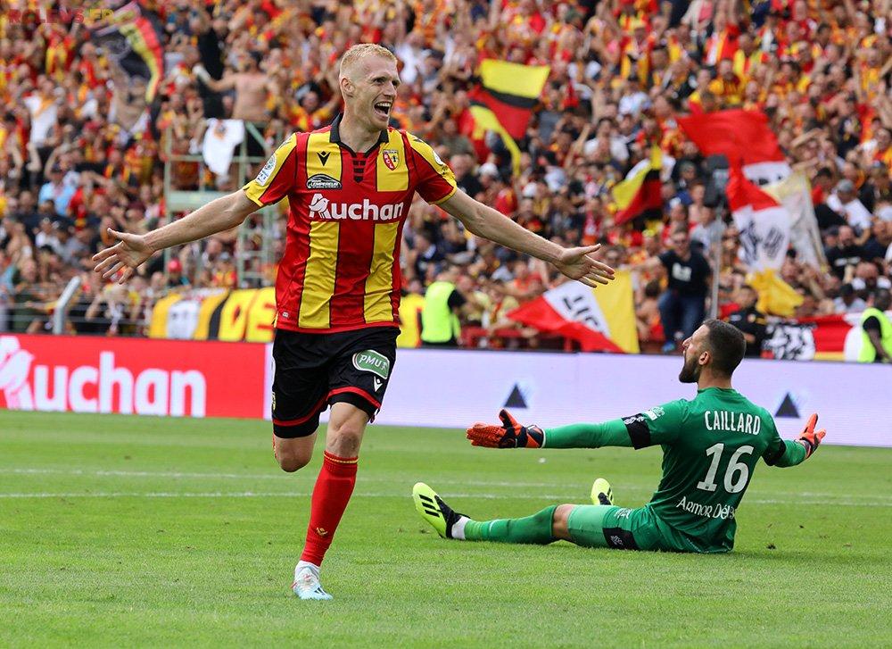 RC Lens vs EA Guingamp Ligue 2 2019/2020