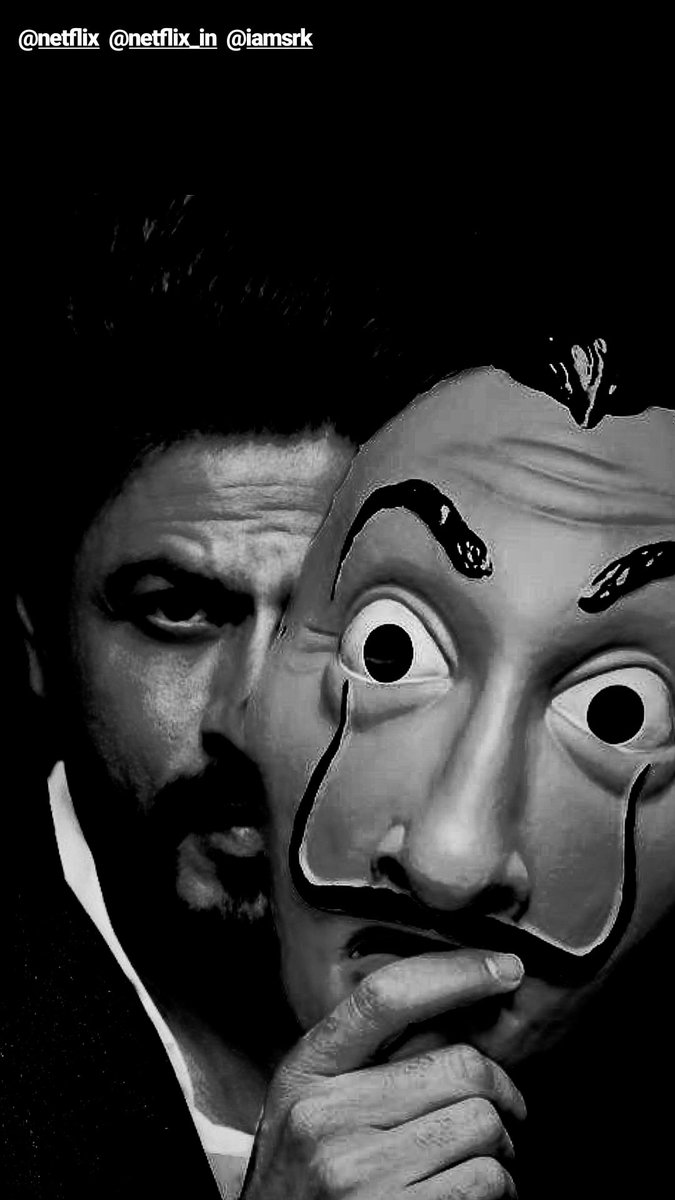 ShahRukhKhan To Turn Spanish Series 'Money Heist' To A Hindi