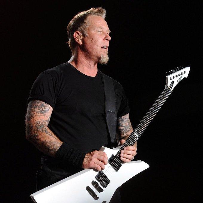 Happy Birthday to James Hetfield !
