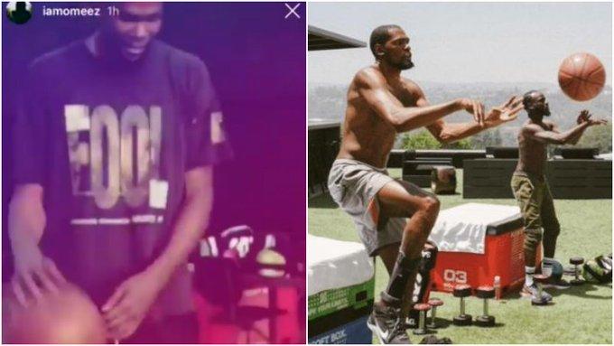 【影片】時隔53天,杜蘭特就可以運球了,獨自站立很輕鬆,籃網隊醫太神奇!-Haters-黑特籃球NBA新聞影音圖片分享社區
