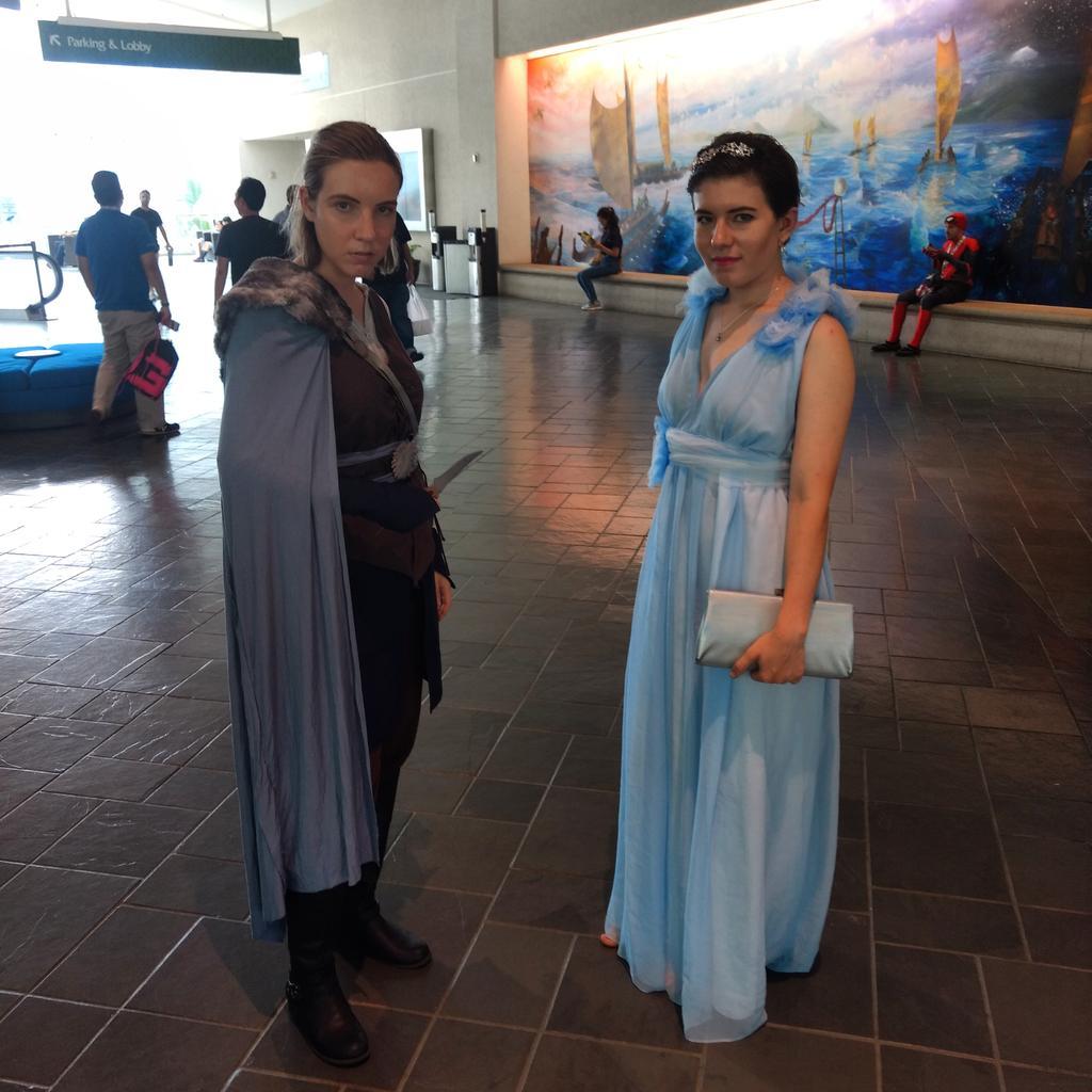 Game of Thrones #gameofthrones #cosplay #comicconhonolulu2019 https://t.co/ROZ8F1TjyF