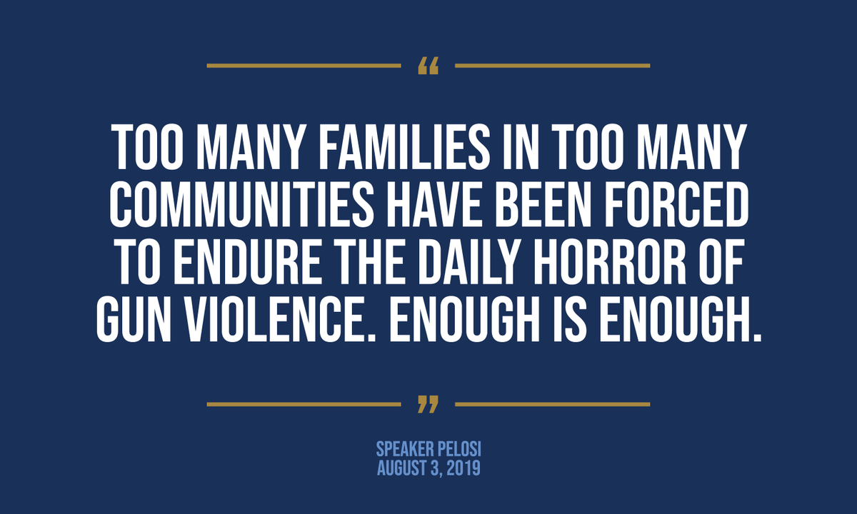 Read my full statement following today's horrific shooting in El Paso here: https://t.co/WcL5Ze3MeB https://t.co/bBND20PZ6A