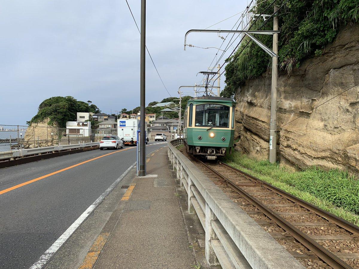 江ノ電 腰越~鎌倉高校前(線路)(1)