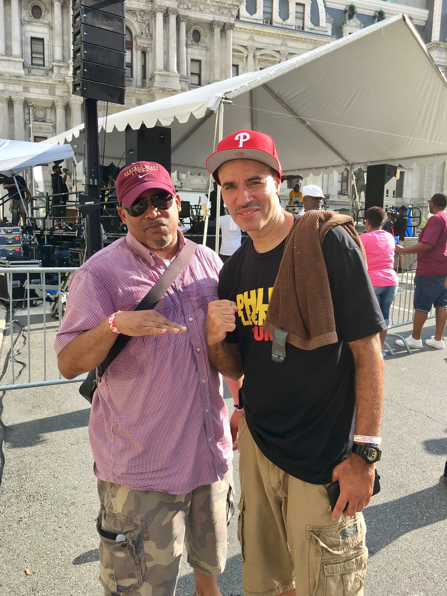 Met the legendary @therealdjcashmoney @ Kappa Philly Fest today.  #PhillyDJs #Klave2019 #CBusNupes #PersonaCustomClothiers
