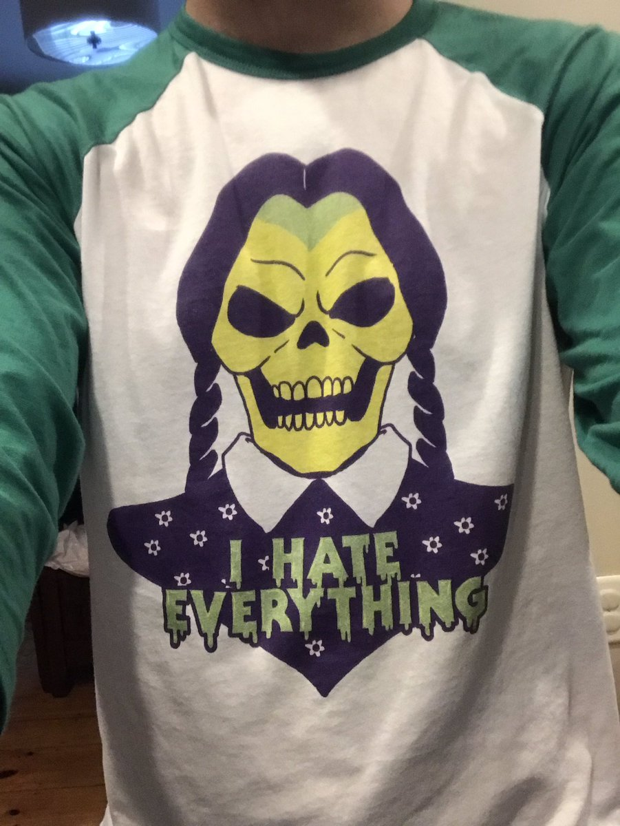 Dear @evildorina, I loved your #skeleday shirt on #ColliderLive last week so much that I got one of my own.