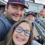 Enjoying a night out with the Lake County Stars at the @TheChicagoDogs baseball game! #FamilyTime