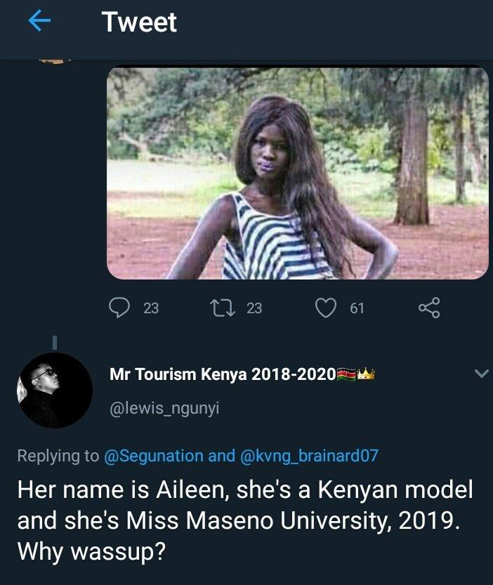 nigeriavskenya hashtag on Twitter