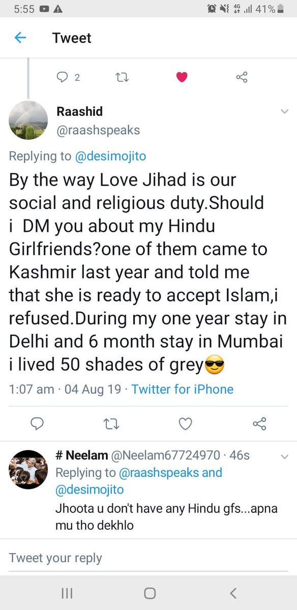 lovejihad hashtag on Twitter