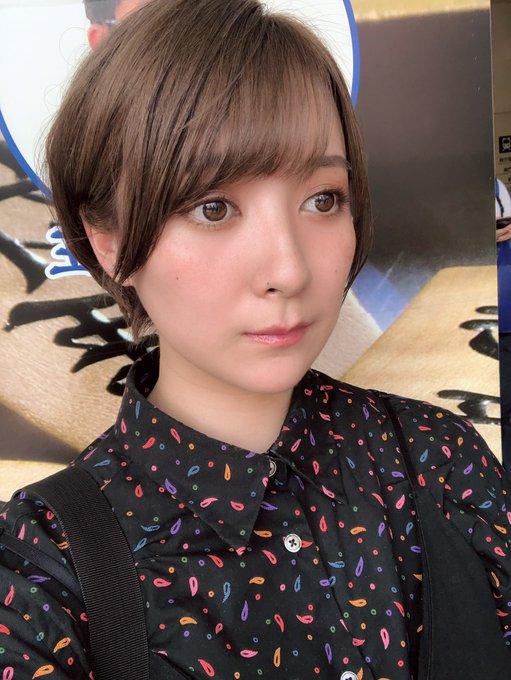 グラビアアイドル紺野栞のTwitter自撮りエロ画像44