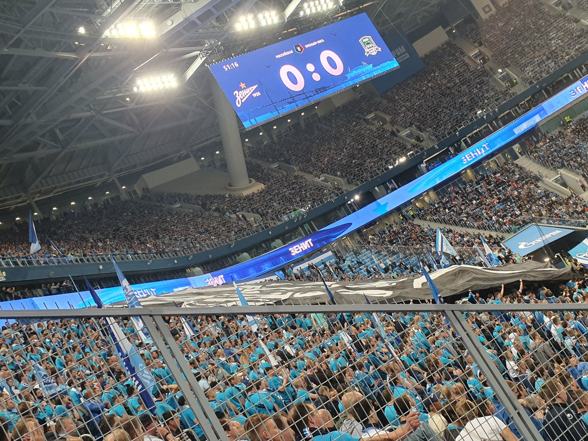 Delly On Twitter Zenit St Petersburg Vs Krasnodar Malcom On As Sub Zenit Ultras Had The Ground Bouncing